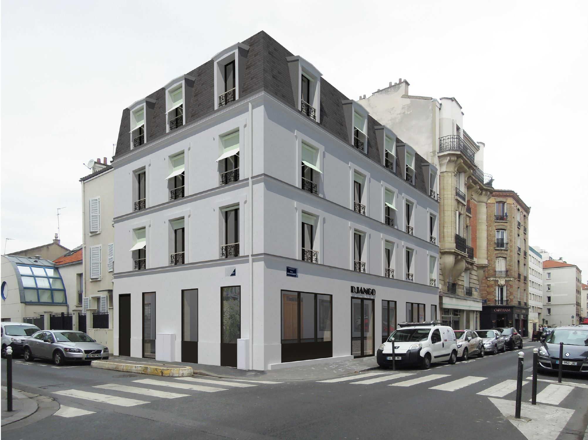 Immeuble visite Boulogne Billancourt Galia